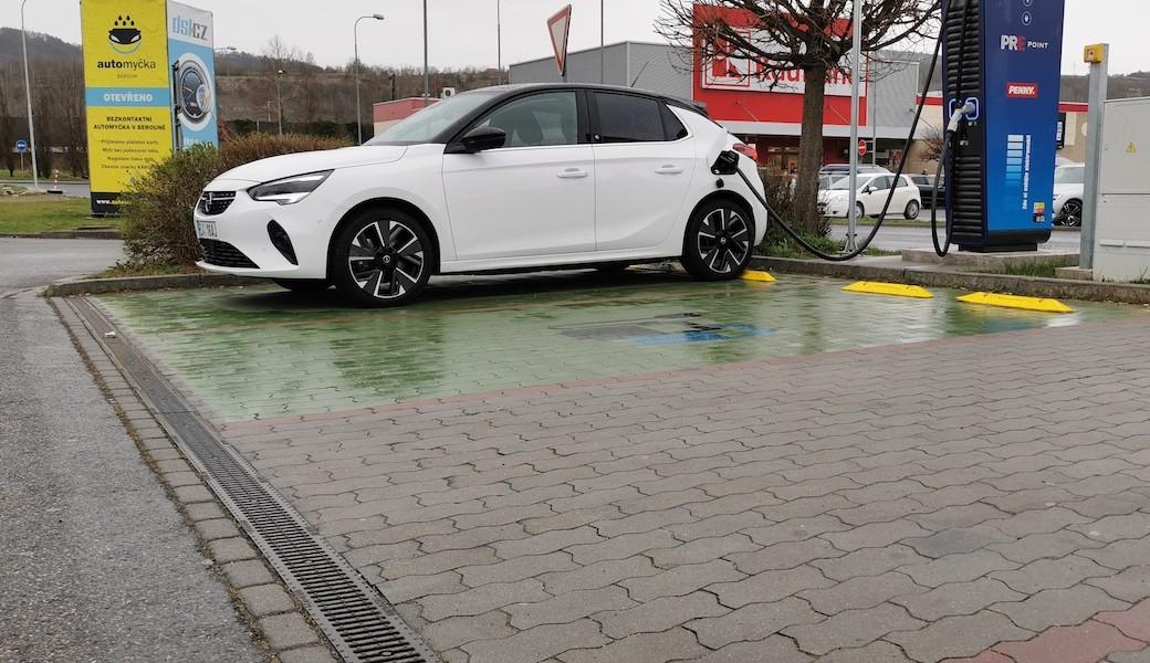 Reálná spotřeba Opelu Corsa-E v běžném provozu