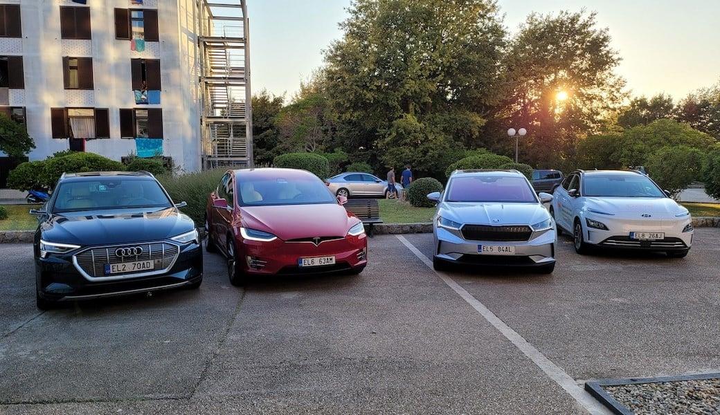 Vyrazili jsme do Chorvatska čtyřmi různými elektromobily
