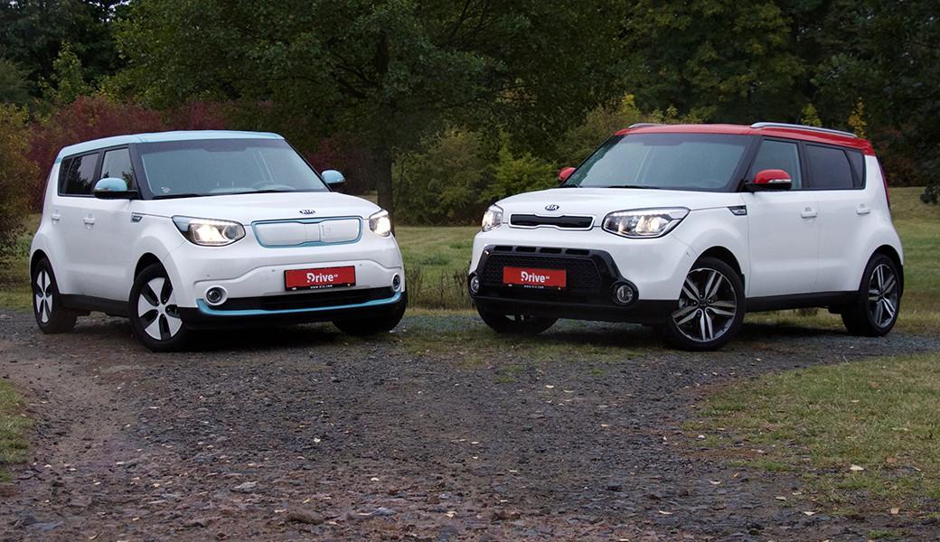 Srovnávací test vozů KiaSoul srůzným pohonem