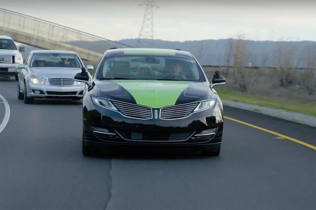 NVIDIA ukázala na CESu vlastní autonomní auto BB8