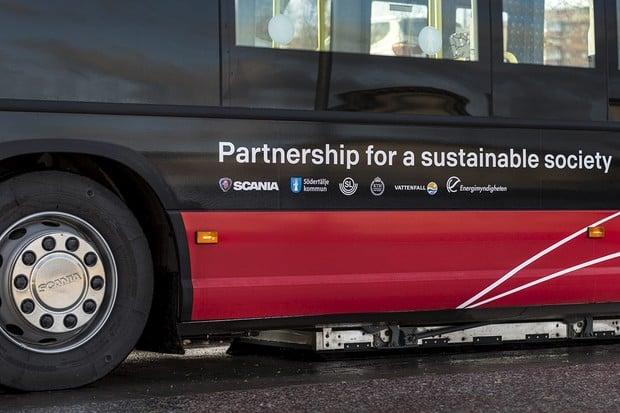 Elektrické autobusy Scania jezdí i v Östersundu