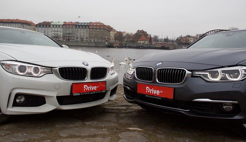 BMW 330e vs. BMW 428i