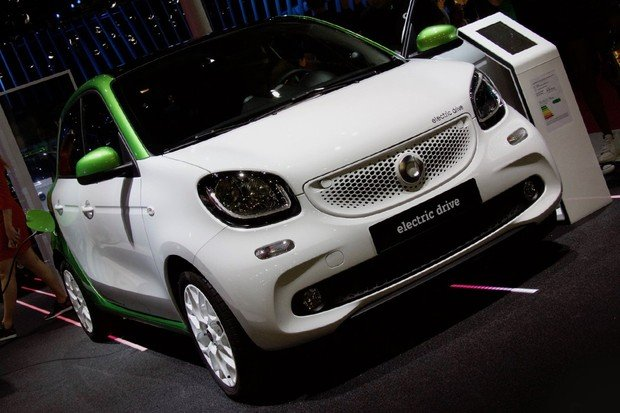 Vozy smart v Severní Americe? Pouze na elektřinu!