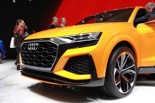 Audi Q8 sport concept. Budoucí směr automobilky se ukázal vŽenevě
