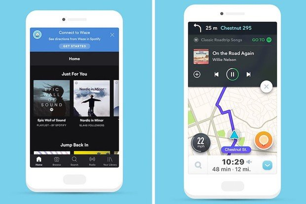 Spotify a Waze už bez sebe brzo nedokážou žít
