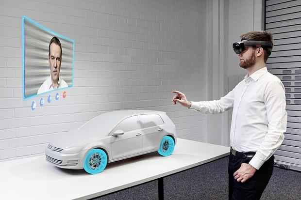 Hliněné modely jsou minulostí, Volkswagenuž pracuje s hologramy
