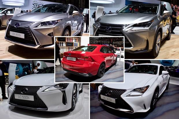 Když je hybrid vhlavní roli aneb ženevský stánek Lexusu
