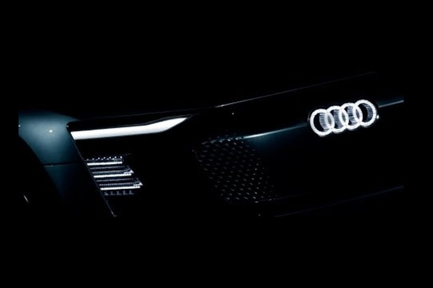 Nové elektrické Audi se představí v Šanghaji, vábí kouzly s LED světly