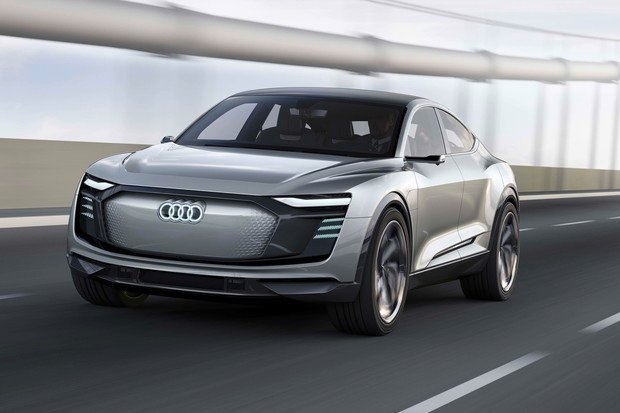 Audi e-tron Sportback concept oficiálně