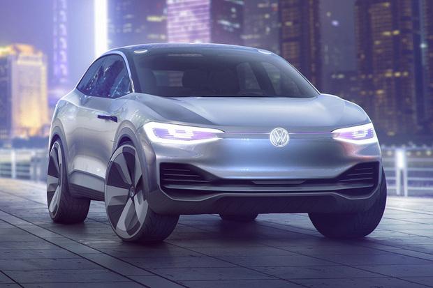 VŠanghaji se ukázal třetí do party. Jde o Volkswagen I.D. CROZZ