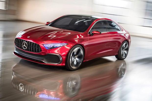 Mercedes-Benz Concept A Sedan ukazuje budoucí designový směr menších modelů