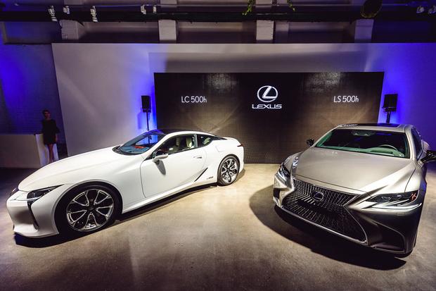 Lexus LS 500h a LC 500h, dvojitá premiéra na českém trhu