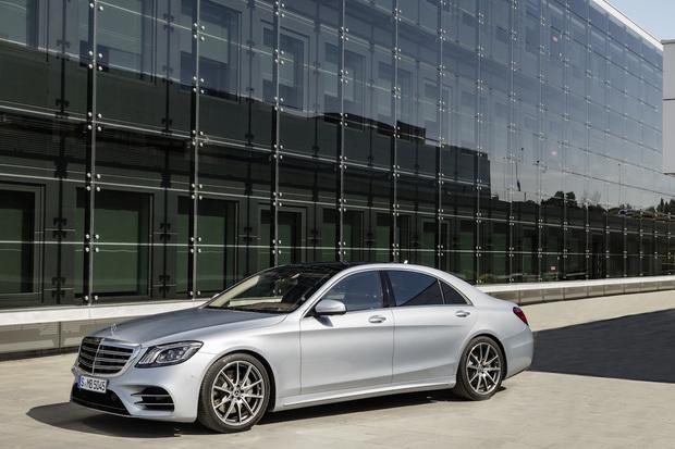Hybridní Mercedes třídy S nabídne téměř dvojnásobný elektrický dojezd