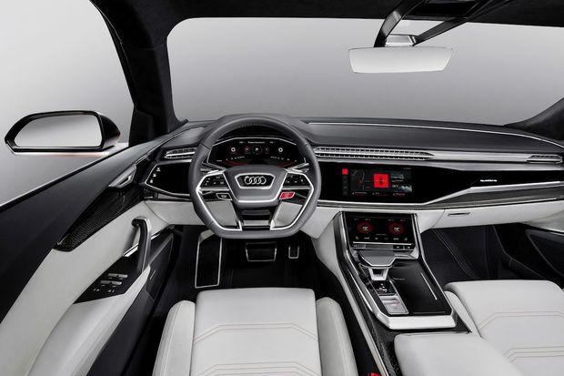 Audi se vydává správným směrem. Zábavu v Q8 a A8 zajistí Android