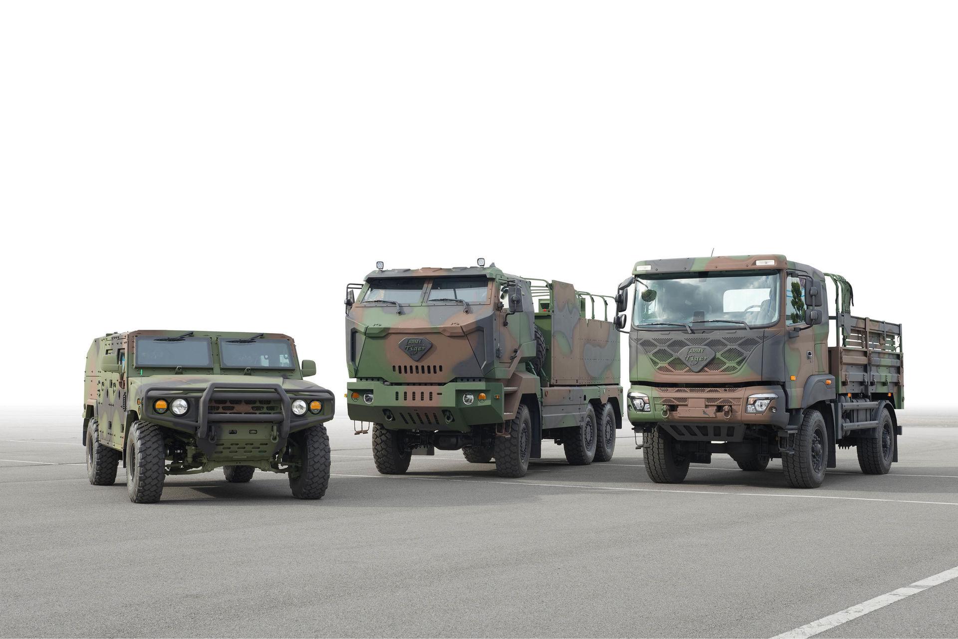 Kia Motors - armádní vozidla