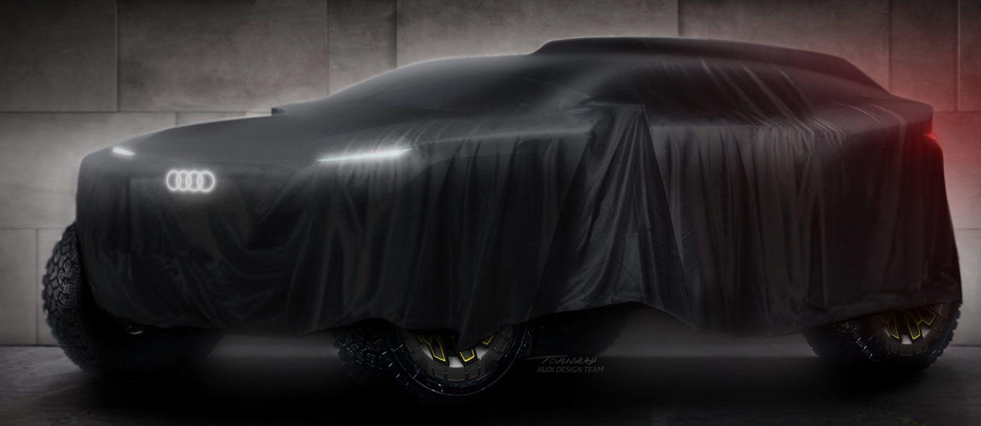 Koncept vozu Audi pro Rally Dakar