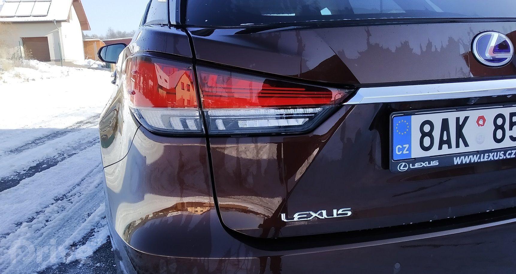 Lexus RX 450h AWD (2021)