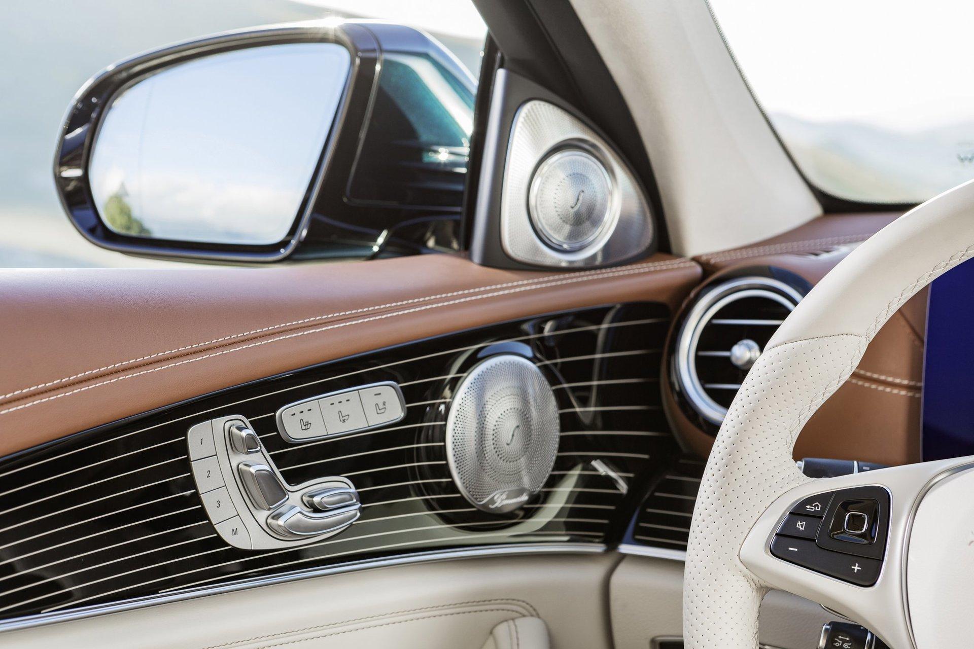 Mercedes-Benz E interier