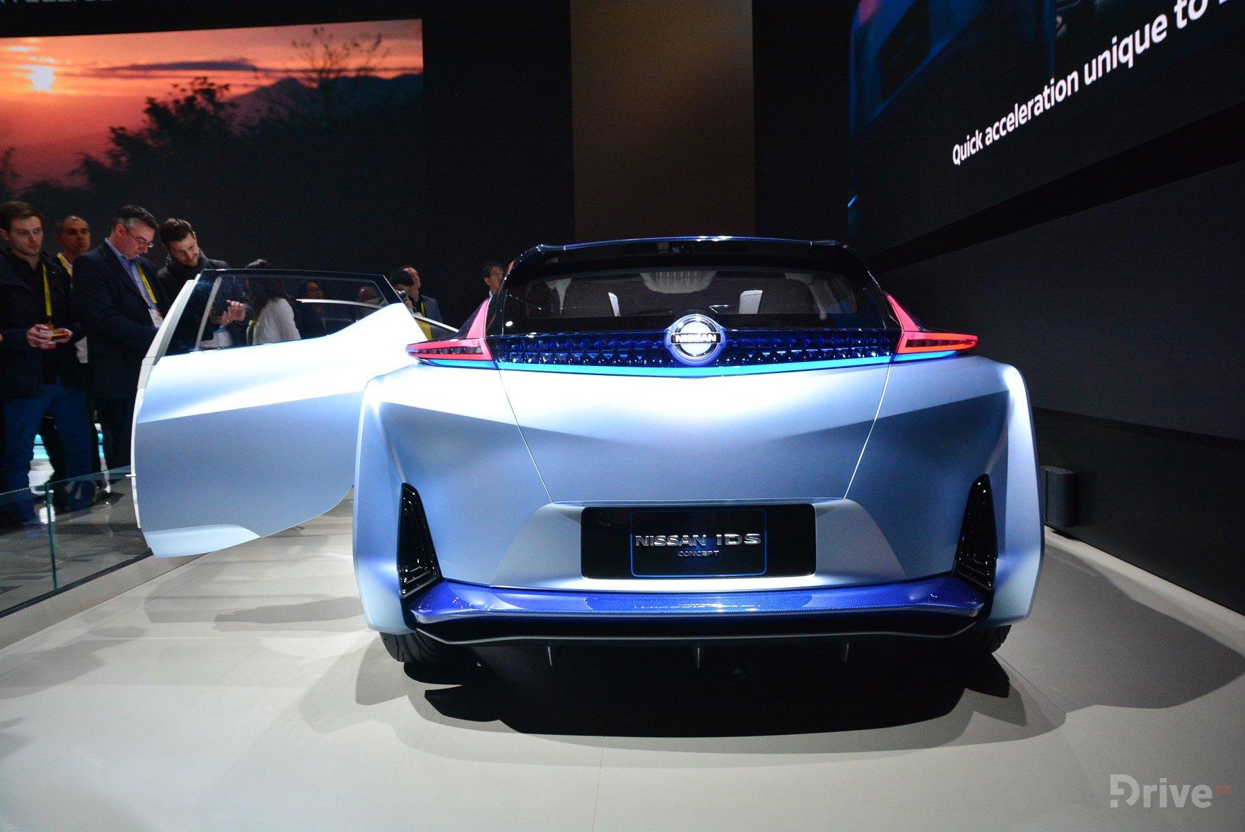Nissan Intelligent Mobility koncept na veletrhu CES 2017