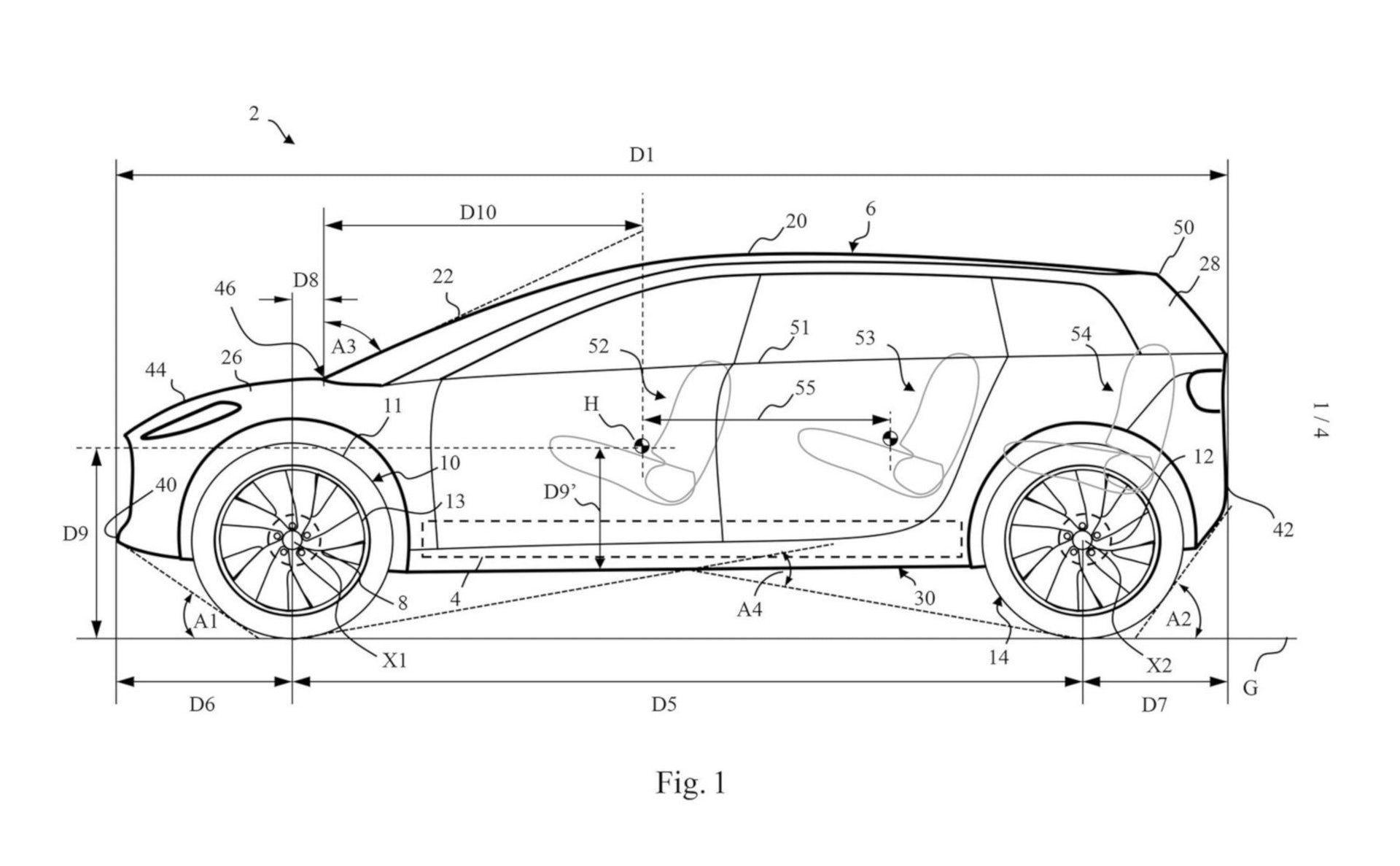 Patentové nákresy SUV od Dysonu