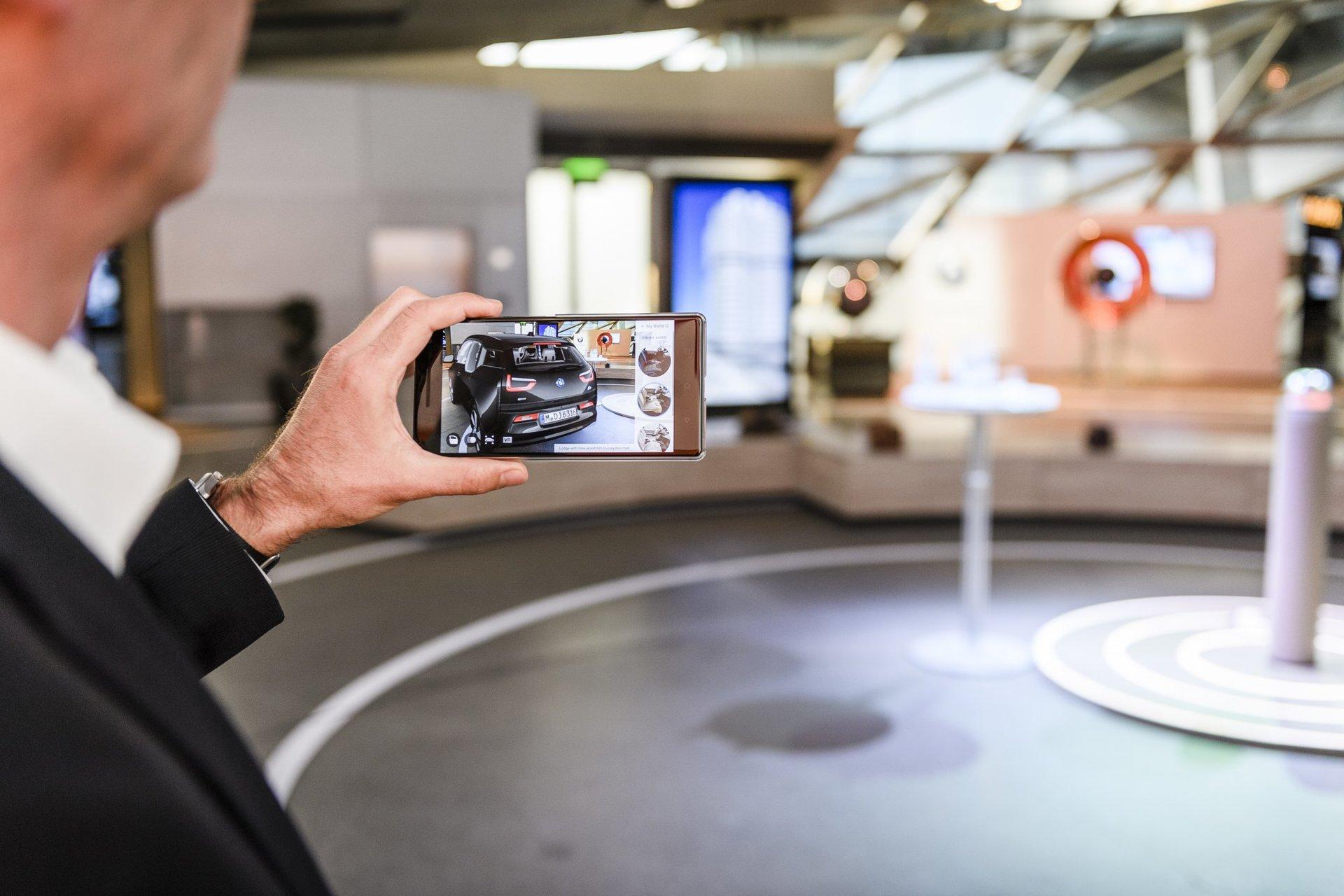 Rozšířená realita BMW i