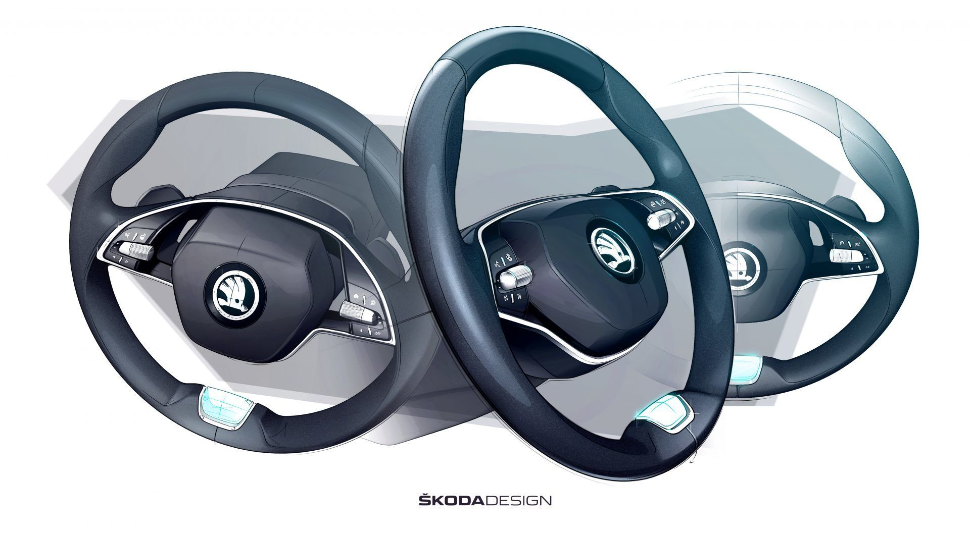 Škoda Octavia 4. generace interiér