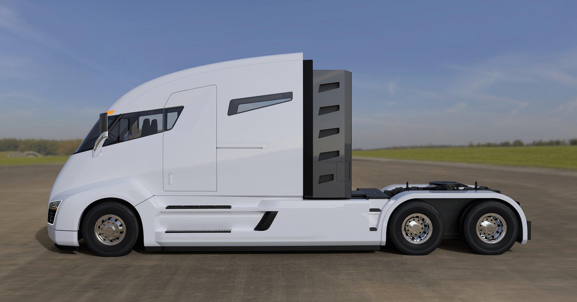 Tesla Semi Render