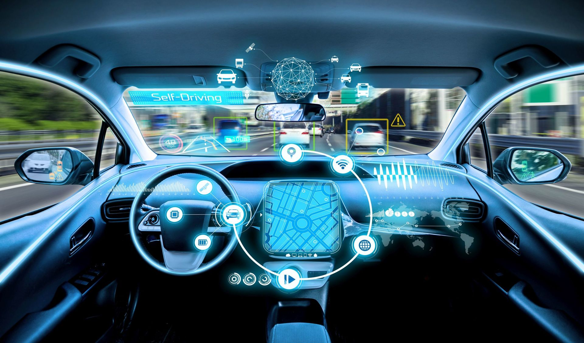 Vize autonomního auta