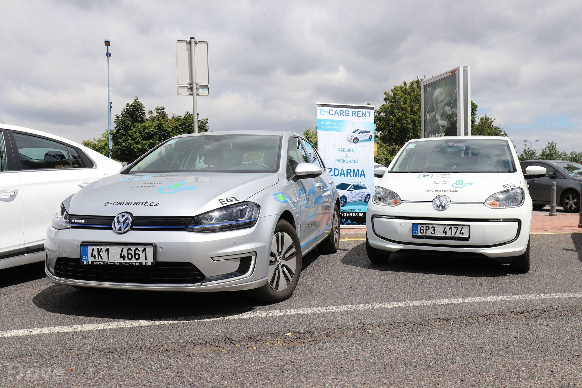 Volkswagen e-Golf a e-up!