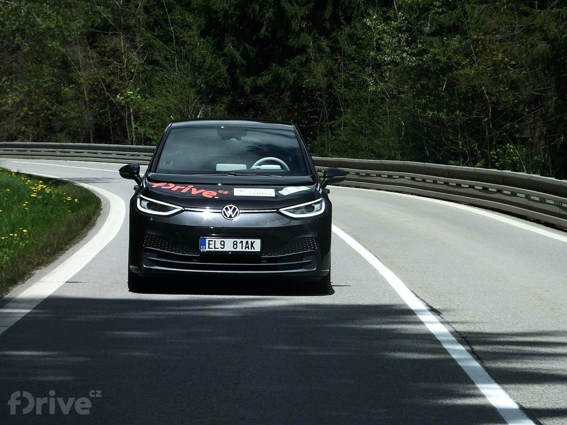 Volkswagen ID.3 na eco-rally