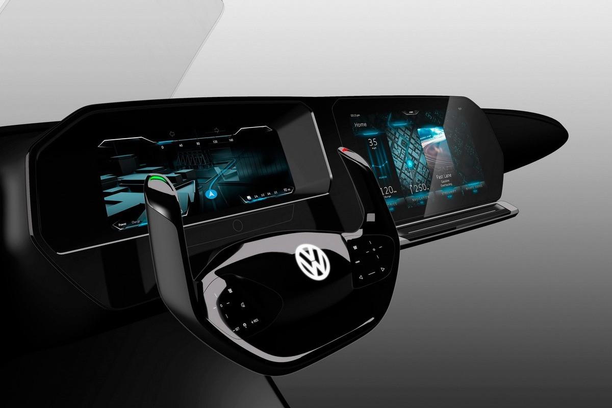 Volkswagen kokpit