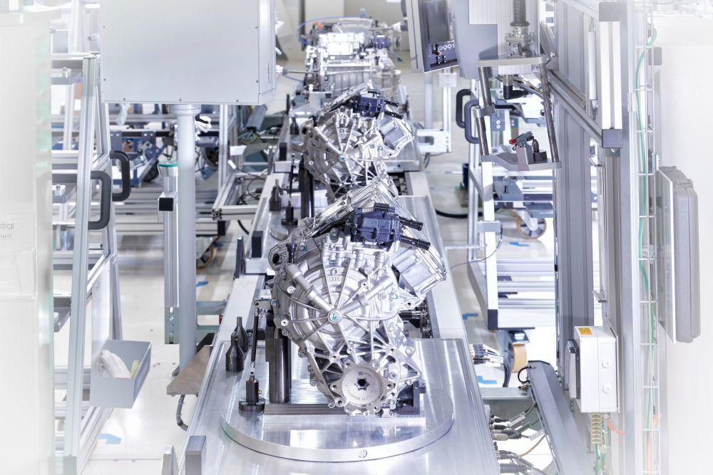 Výroba Audi e-tron