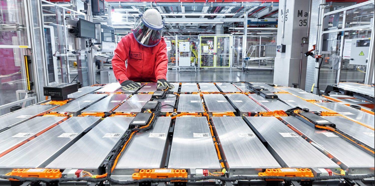 Výroba baterií Audi