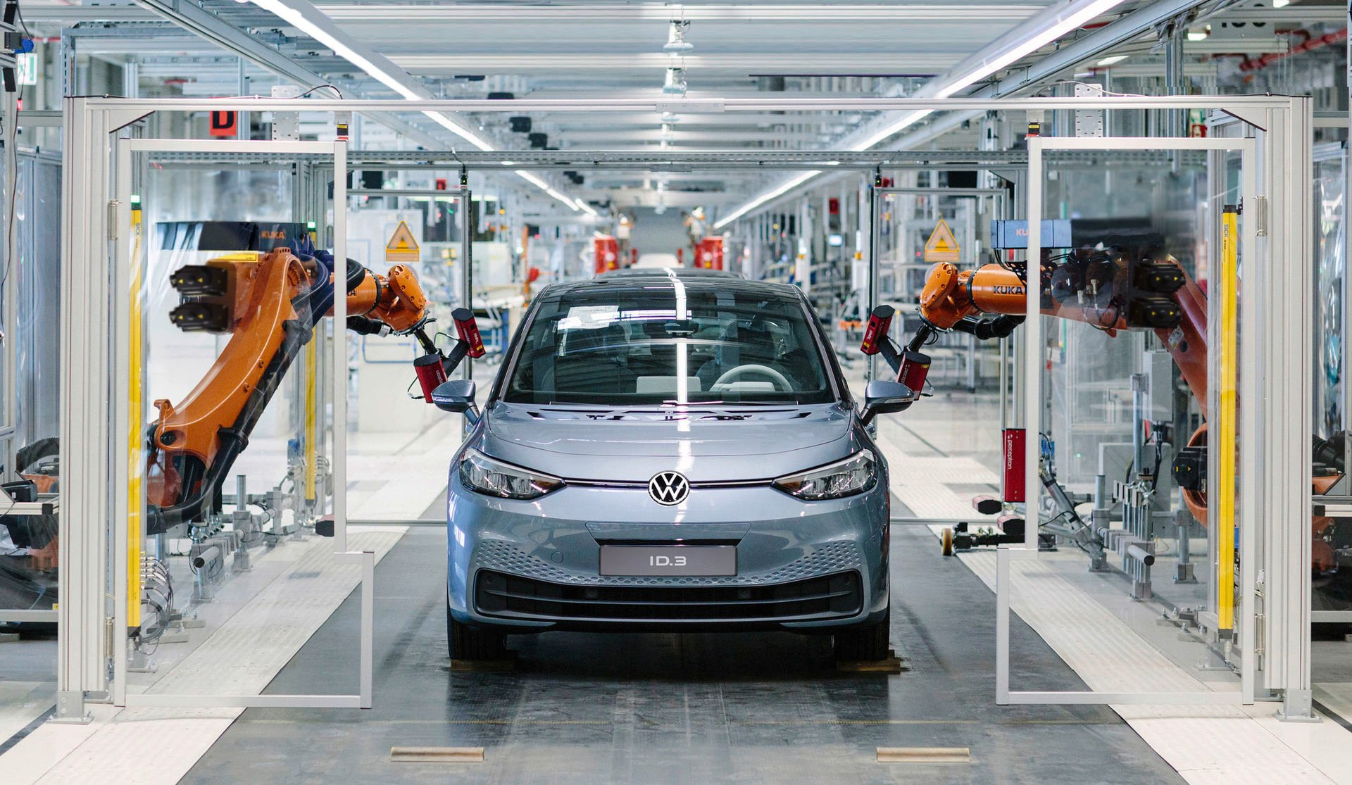 Výroba Volkswagen ID.3