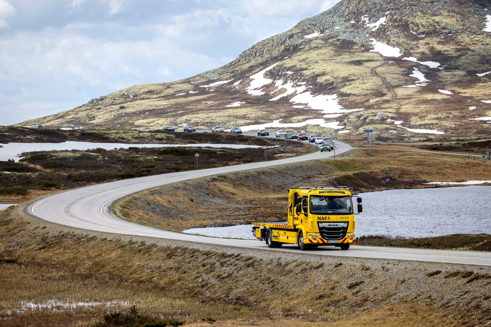 Žlutý anděl v Norsku