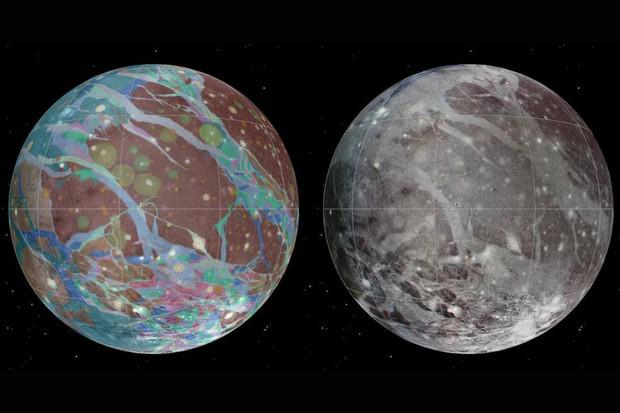 Kosmická sonda Juno se blíží k největšímu měsíci sluneční soustavy