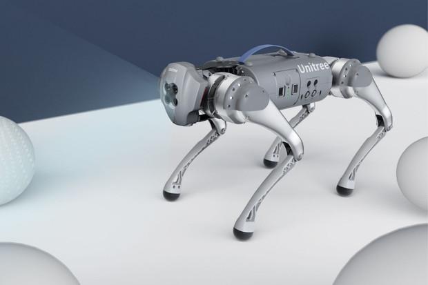 Čtyřnohý robot Unitree Go1 za 68 tisíc korun vám odnese nákup