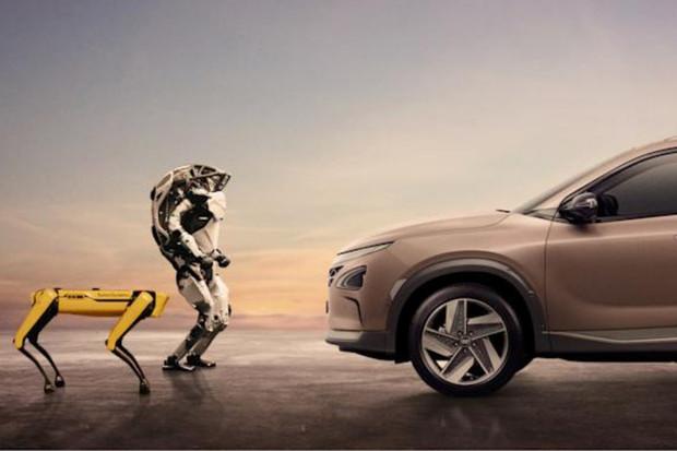 Hyundai nově vlastní společnost, která je známá svými robotickými psy