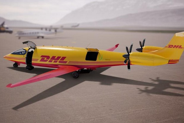 DHL si objednalo 12 letadel na elektřinu