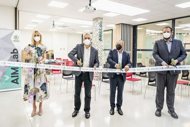 Škoda Auto otevírá AIM.Lab ve spolupráci s VŠB-Technickou univerzitou Ostrava