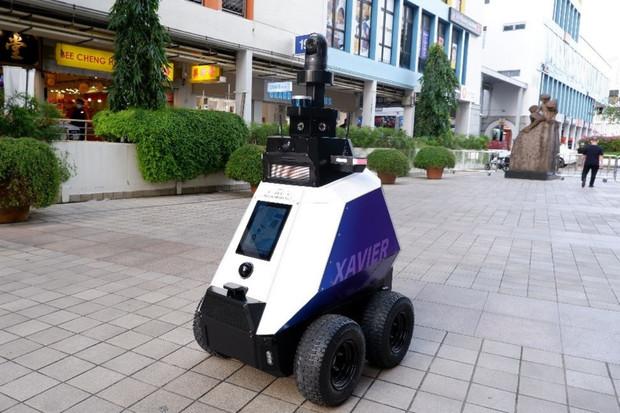 Singapurské ulice hlídají pozemní roboti