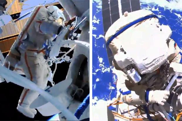 Ruští astronauté mají za sebou druhý výstup z ISS. Připravují modul Nauka