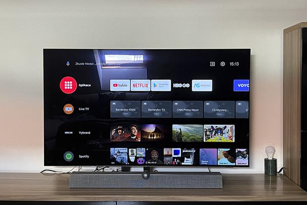 Mezi nejpopulárnější aplikace v Android TV patří YouTube a Netflix