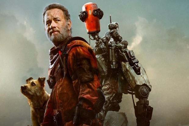 Tom Hanks, robot a pes. S touto trojkou bude i apokalypsa zábava