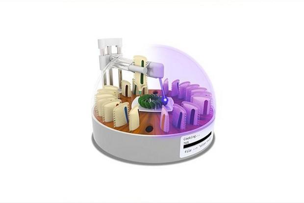 Vaření budoucnosti? Lasery a 3D tisk