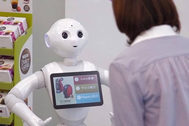 Robot nemusí být plný elektroniky. Některým stačí pouze stlačený vzduch