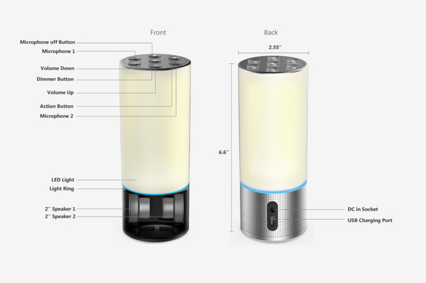 Amazon doporučuje, jak by měly vypadat chytré lampičky a reproduktory s Alexou