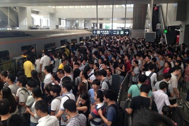 Skenování obličejů a dlaní jako bič na černé pasažéry? V Pekingu brzy realita