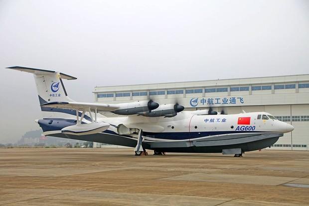 Čínskému obojživelníku stačí pro přistání vodní plocha o hloubce 2 metry