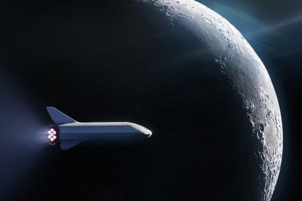 Raketa BFR od SpaceX má svého prvního pasažéra. Dostane ho až k Měsíci